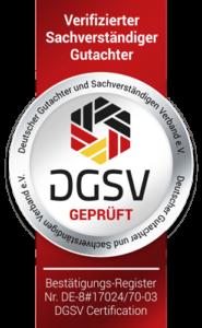 Das KFZ Gutachter Institut Hamburg ist DGSV Geprüft