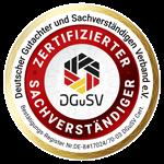 Kfz Gutachter Institut DGuSV Siegel