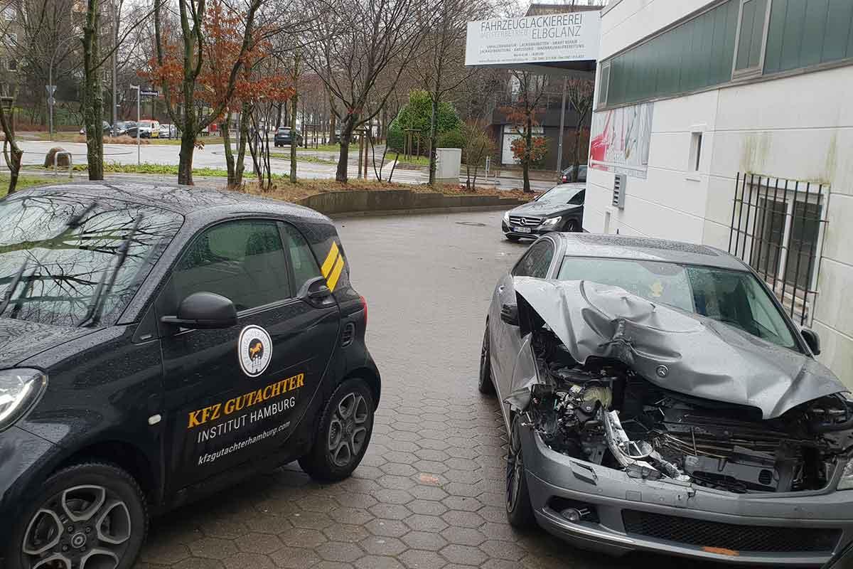 Autounfall Gutachter Hamburg
